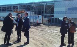 Visite chantiers Nantes Metropole