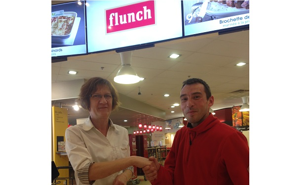 Photo insertion Fabien GAULUPEAU chez Flunch (LM)