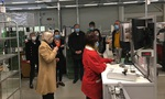 Audencia photo DP visite usine